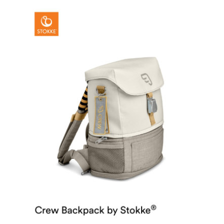 JETKIDS™ BY STOKKE® Rucksack Crew Backpack™ White