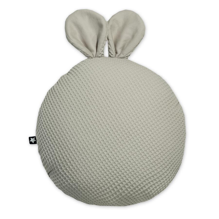 JULIUS ZÖLLNER Kuschelkissen mit Ohren Waffelpiqué Seashell