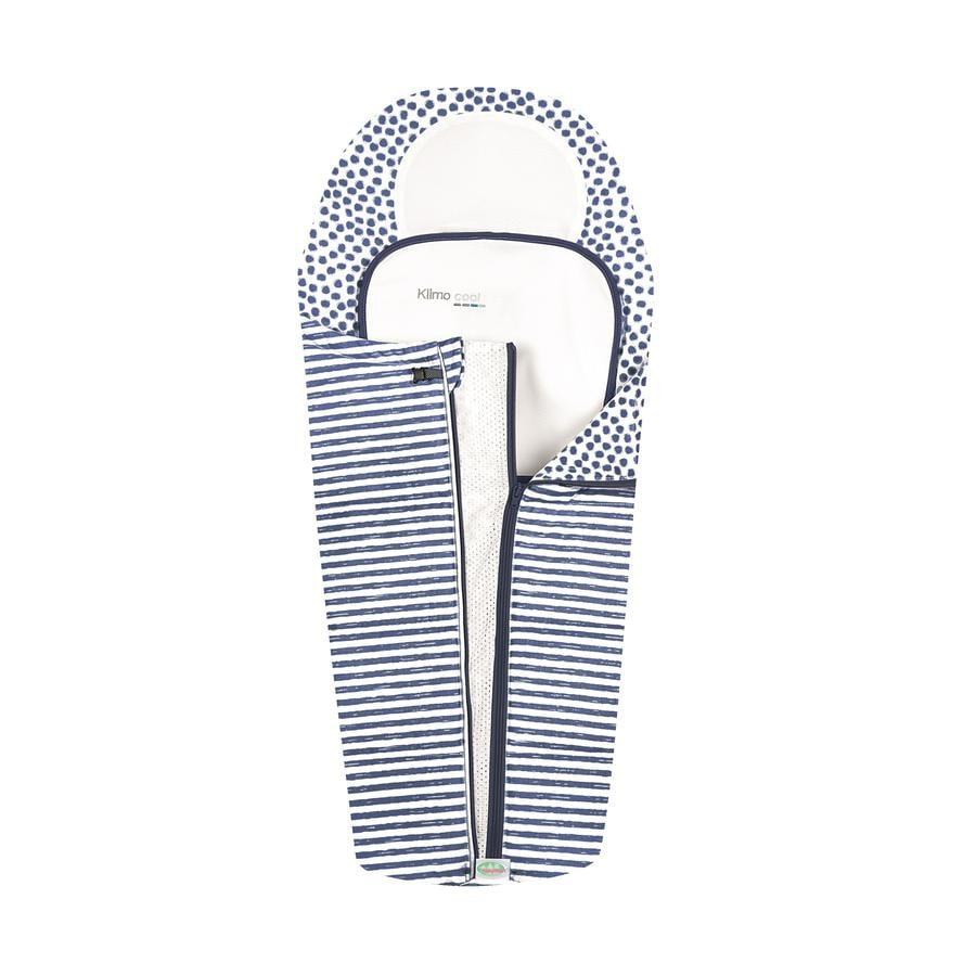 odenwälder Klimocool sommer kørepose Stripes Light Denim