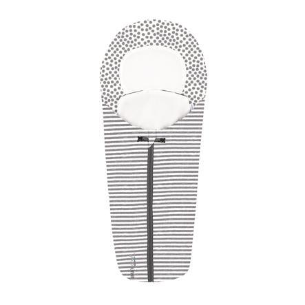 odenwälder Chancelière pour cosy universelle mini Coolmax Stripes graphite