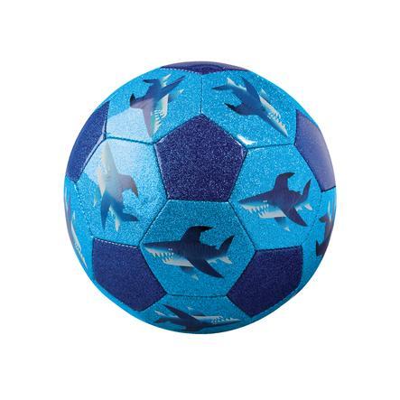 Crocodile Creek ® Glitterfotboll 18 cm - hajar
