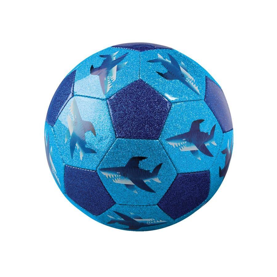 Crocodile Creek ® Glitter fodbold 18 cm - hajer