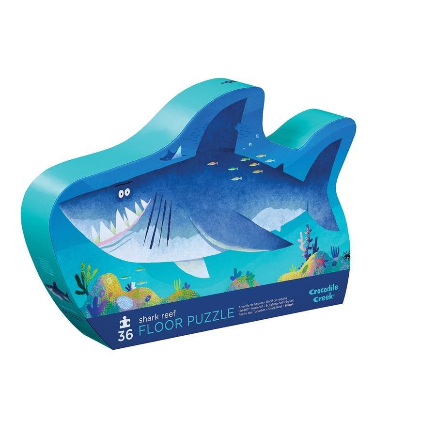 Crocodile Creek ® Mini puzzle 36 szt. rekiny