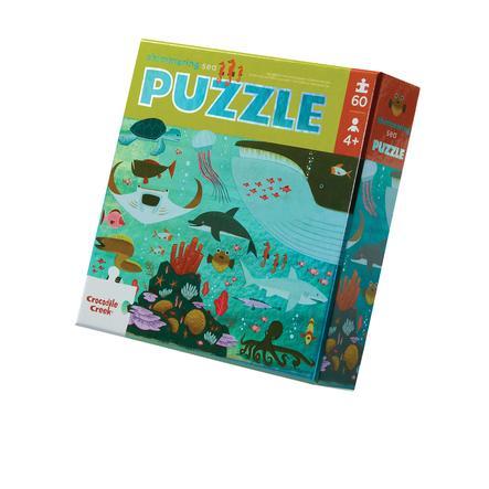 Crocodile Creek® Folien Puzzle Das Meer - 60 tlg.