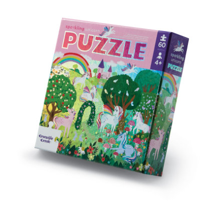 Crocodile Creek ® Folie puzzel 60 st Unicorn