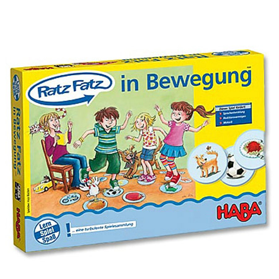 HABA learning game Ratz-Fatz Activity