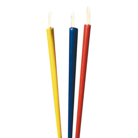 HAPPY PEOPLE Lot de 3 torches de jardin