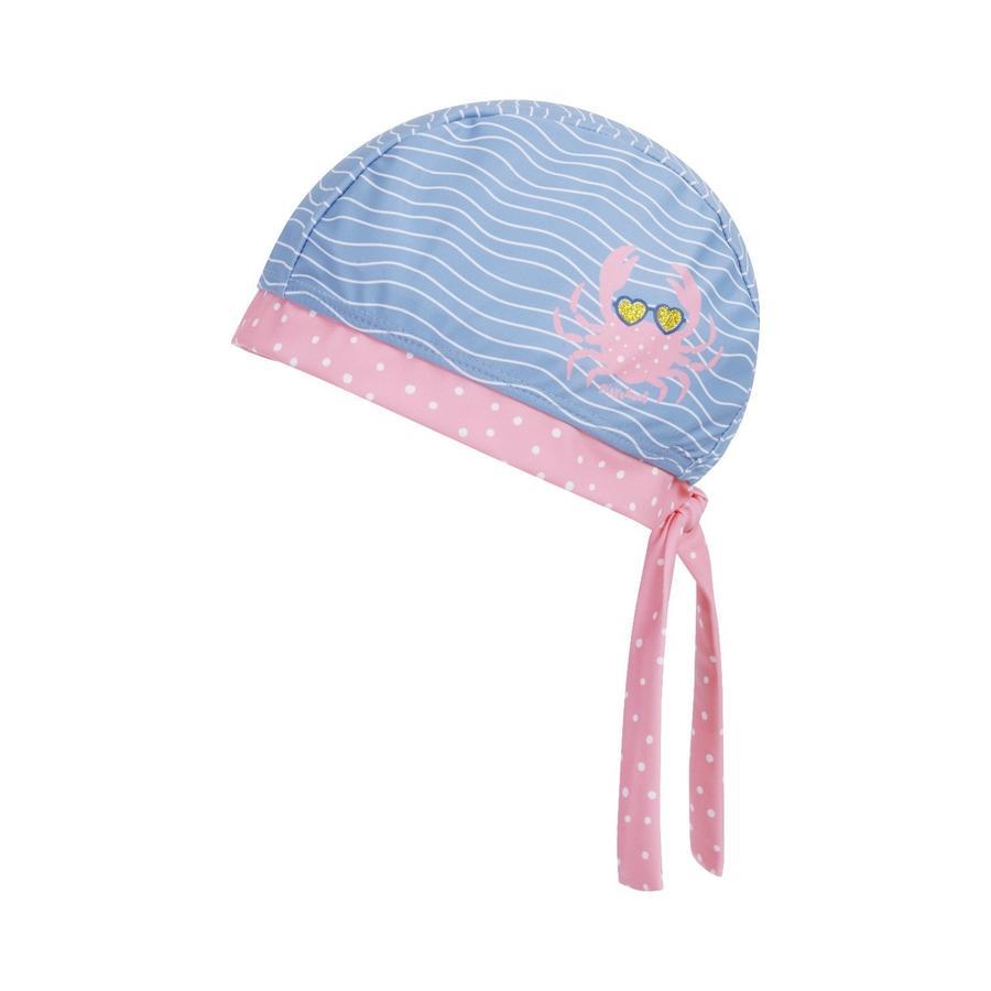 Playshoes UV-beskyttelse bandana kræft blå-pink