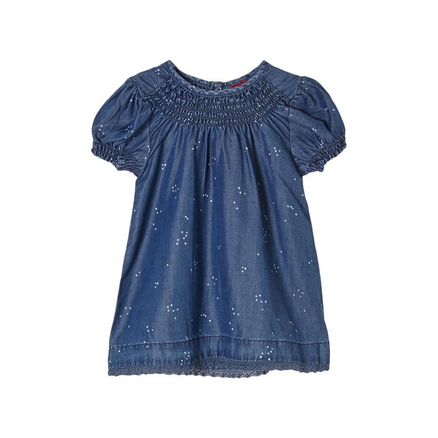 s. Olive r Šaty z modré natažené džínoviny