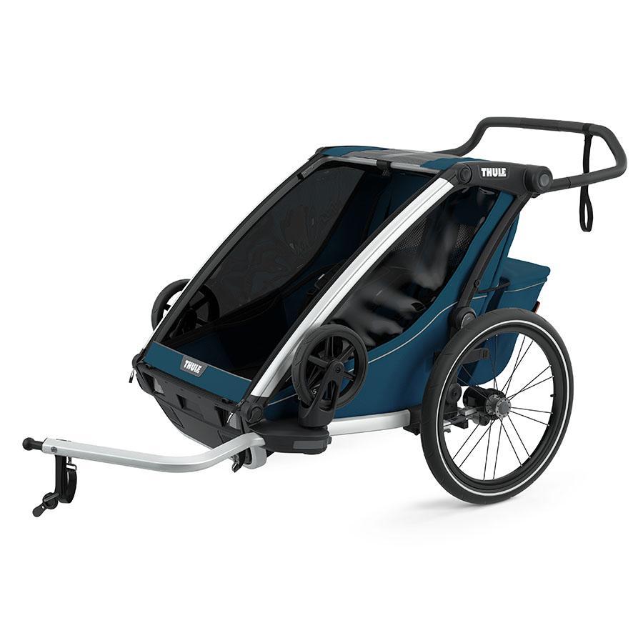 THULE Kinderfahrradanhänger Chariot Cross 2 Majolica Blue
