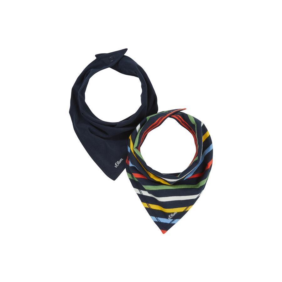 s.Oliver trekantet tørklæde multipack