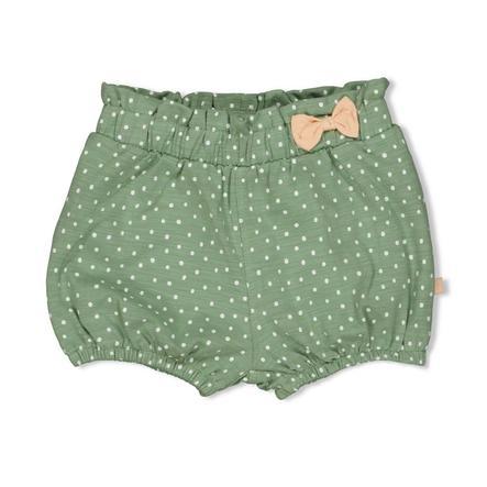 Feetje Shorts Hearts grün