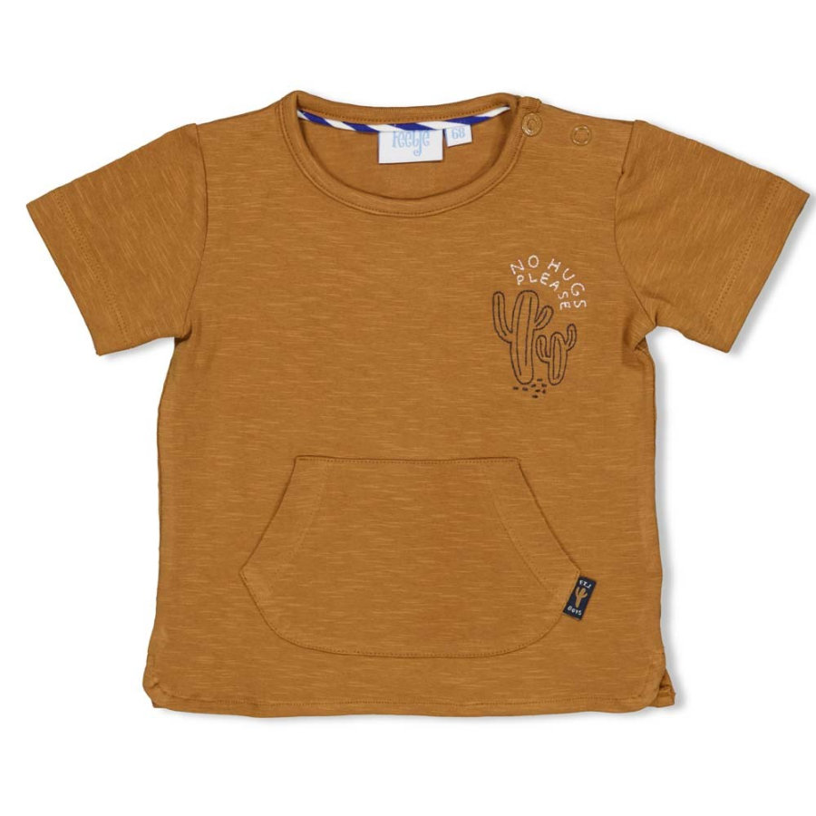 Feetje T-shirt chill på Ser skarp kamel ud