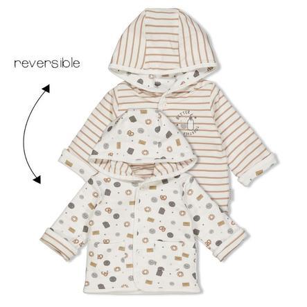 Feetje Vendbar jakke med hætte Mini Cookie Sand