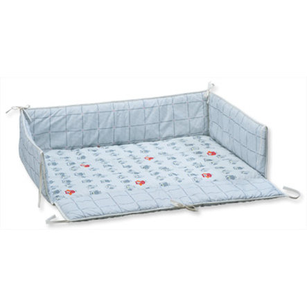 GEUTHER Playpen Bumper / Cot 73x102cm Eule