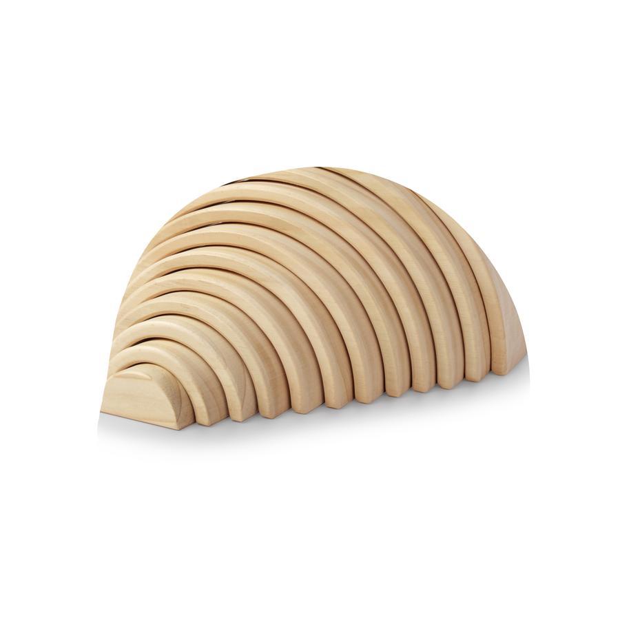 Kinderfeets® Arches Naturel - Stapelbare Holzbögen