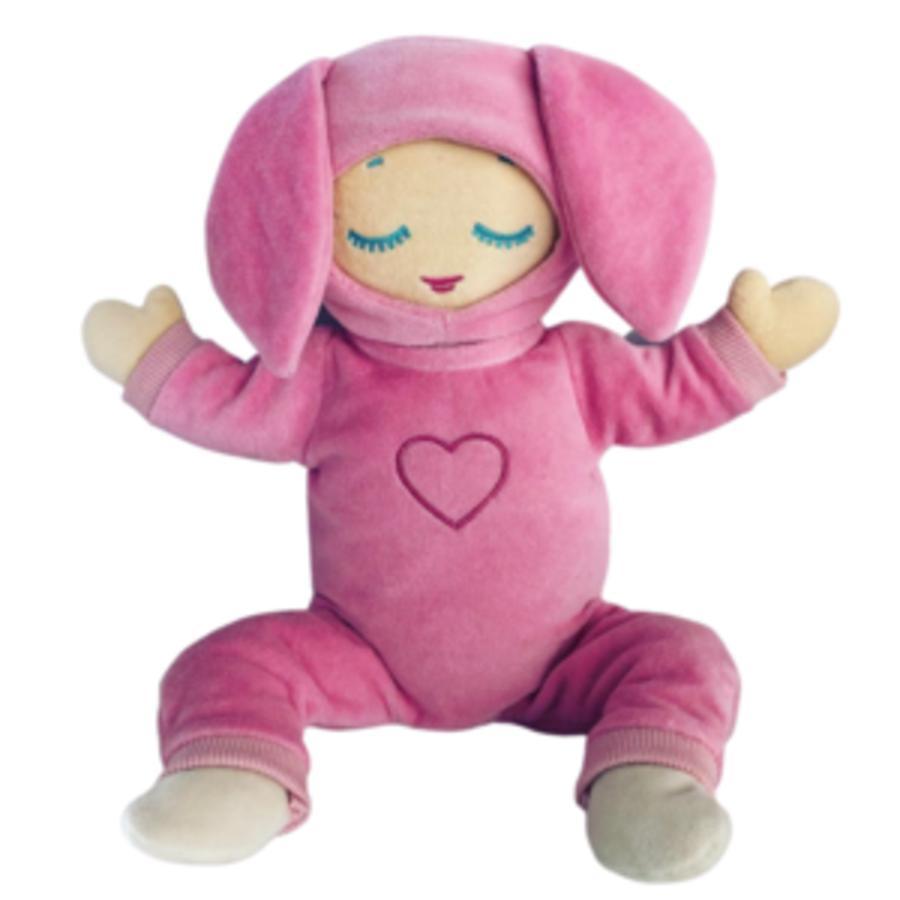 Lulla doll Vêtement de poupée pyjama lapin Lulla Coral rose