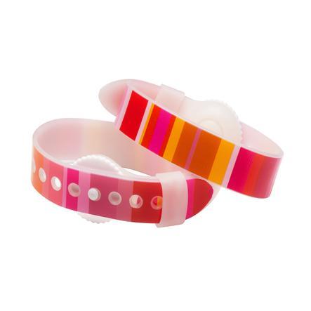 PsiBands Akupressur Armband für die Linderung von Übelkeit Crystal Clear in bunt
