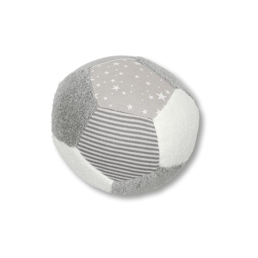 Sterntaler Ball grau/weiß