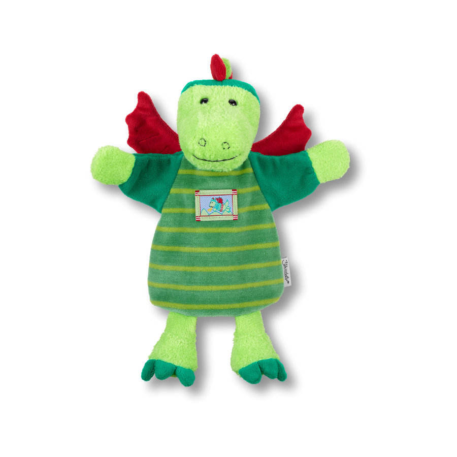 Sterntaler Dragón de títeres para niños