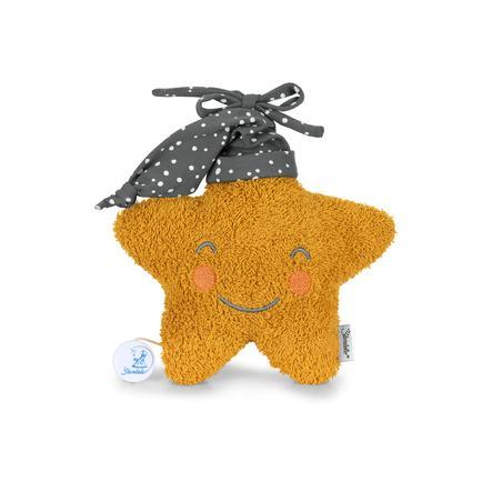 Sterntaler Music box L star yellow
