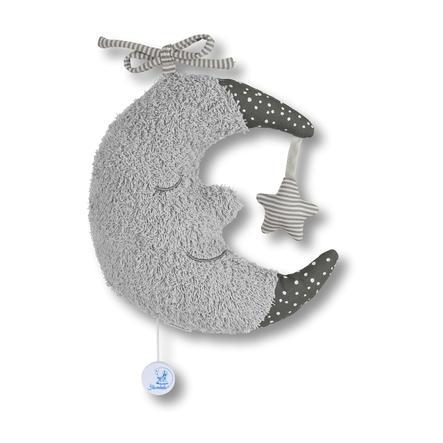 Sterntaler Spieluhr L Mond grau