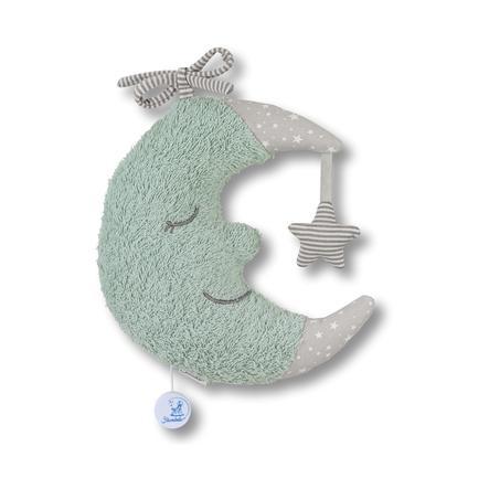 Sterntaler Spieluhr L Mond puder grün