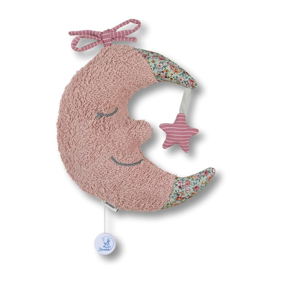 Sterntaler Spieluhr L Mond puder rosa