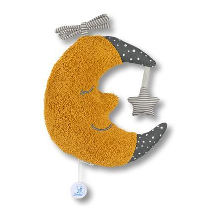 Sterntaler Spieluhr L Mond gelb