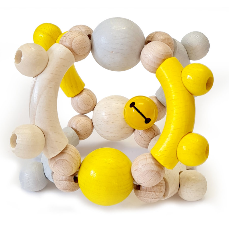 HESS Chrastící koule motoru, nature žlutá