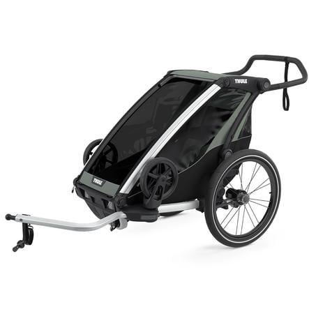 THULE Remorque de vélo enfant Chariot Lite 1 Agave