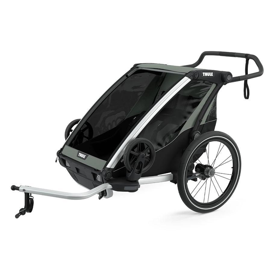 THULE Kinderfahrradanhänger Chariot Lite 2 Agave
