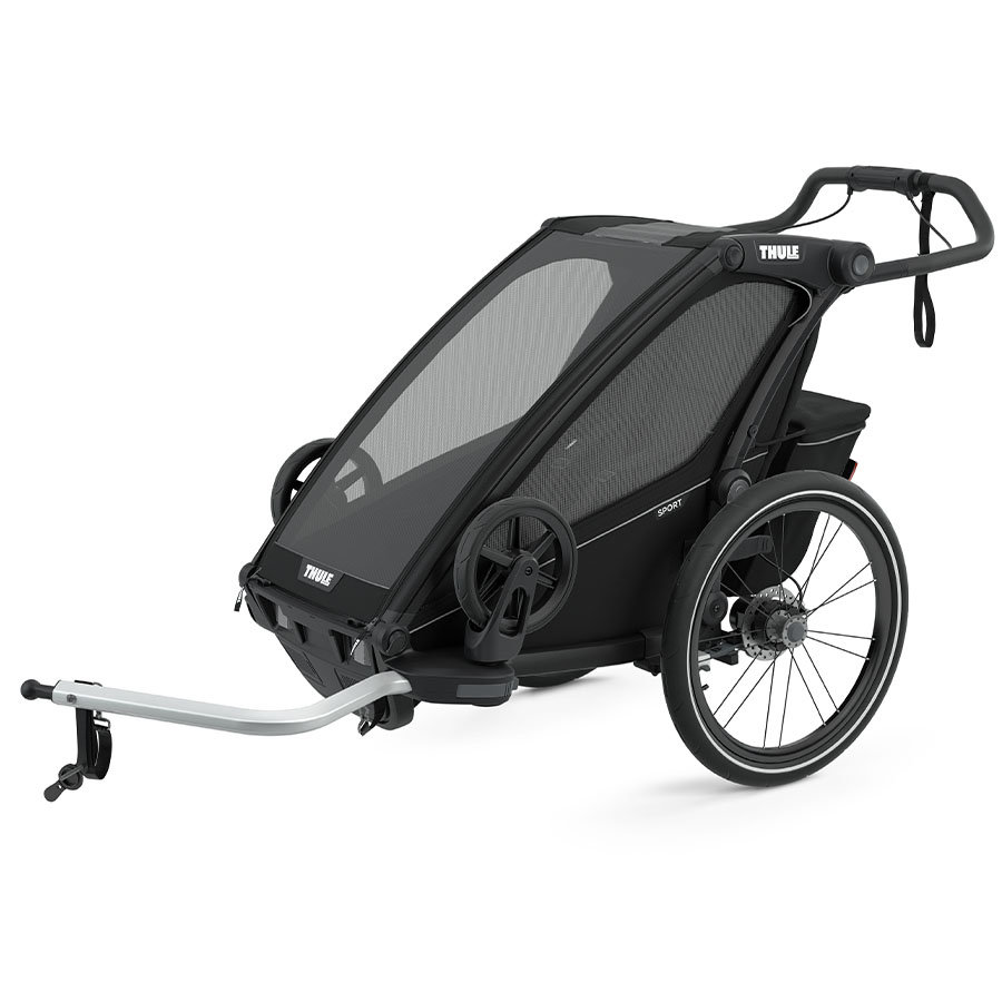 THULE Kinderfietskar Chariot Sport 1 Mid night  Black