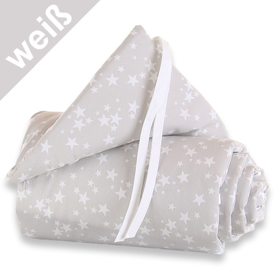 TOBI BABYBAY Paracolpi Maxi stelline/bianco