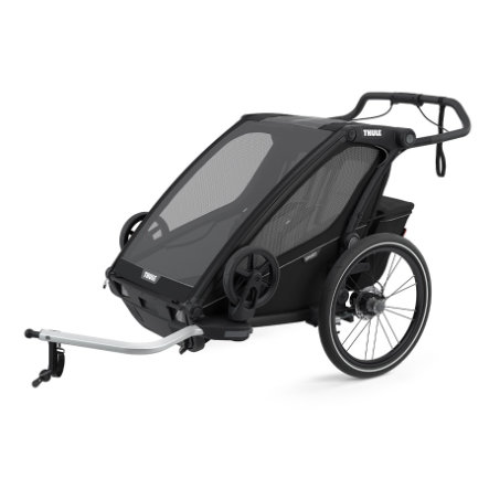THULE Barnesykkelhenger Chariot Sport 2 Mid night Black