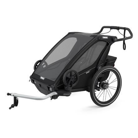 THULE Kinderfahrradanhänger Chariot Sport 2 Midnight Black