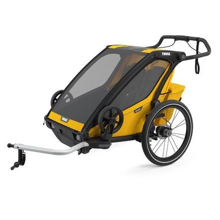 THULE Kinderfahrradanhänger Chariot Sport 2 Spectra Yellow