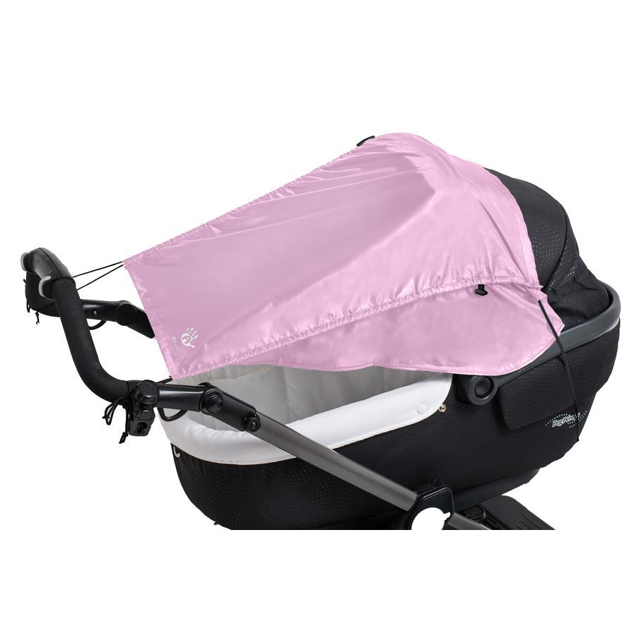 Altabebe Pare-soleil pour poussette protection latérale rose