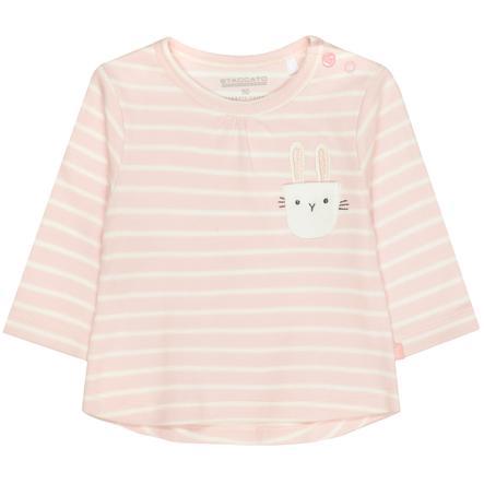 STACCATO  Camicia morbida blush a righe