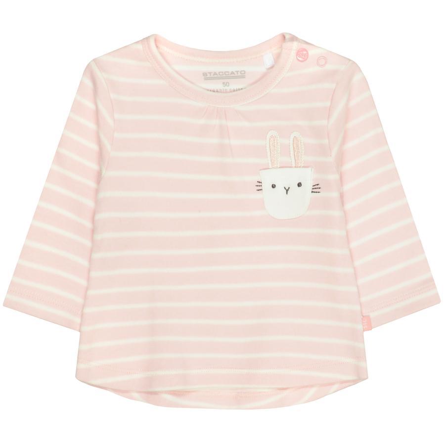 STACCATO Shirt soft blush gestreift