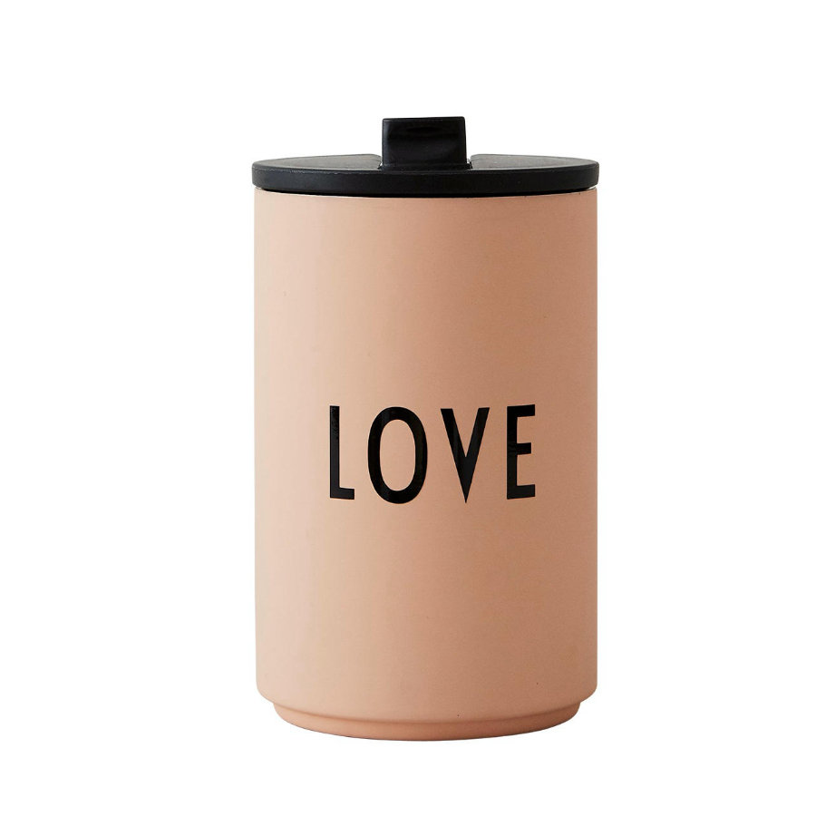 Design letters Thermobecher LOVE in nude 350 ml