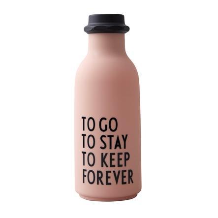 Design letters Water Bottle To Go i naken