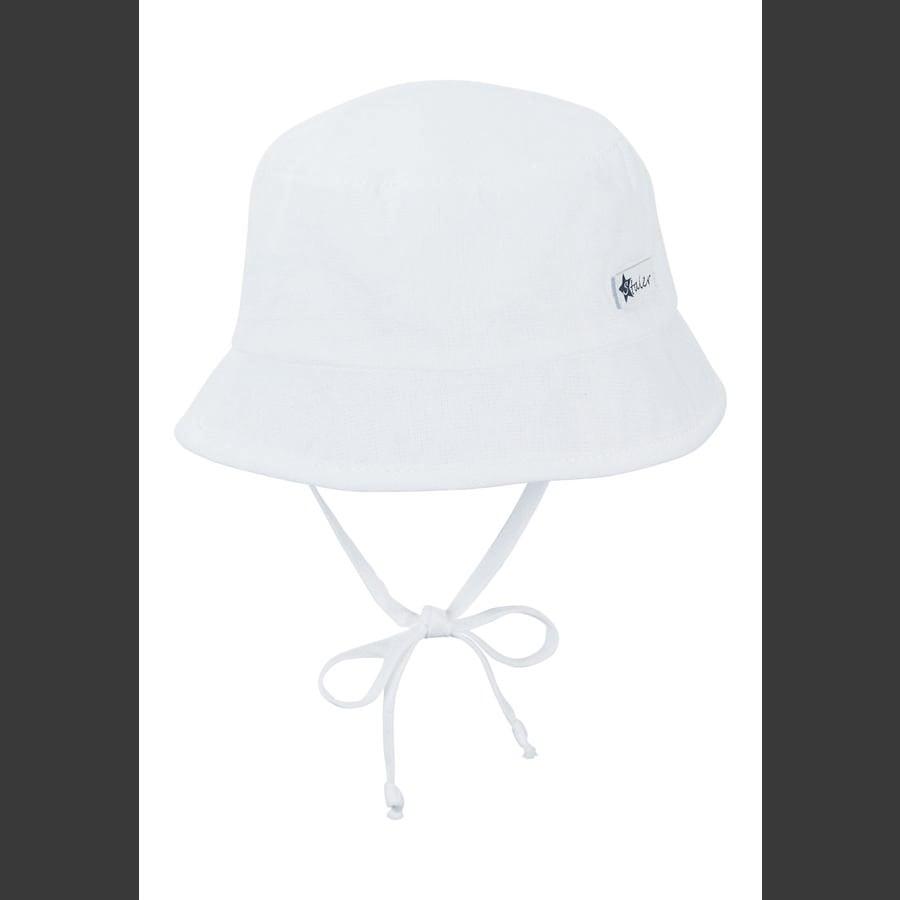 Sterntaler Fiskerhue hvid