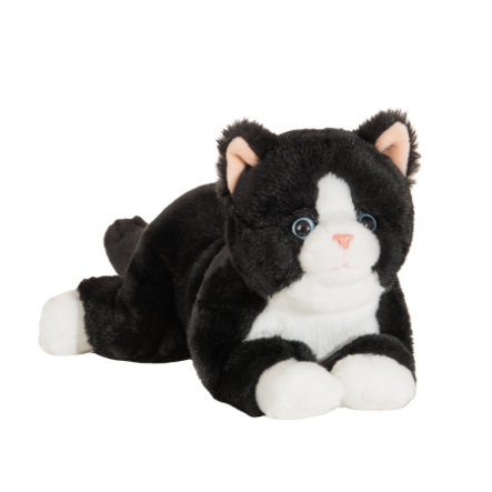 Teddy HERMANN ® Schlenker kočka černá 30 cm
