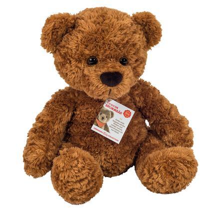 Teddy HERMANN® Teddy braun 35 cm mit Brummstimme