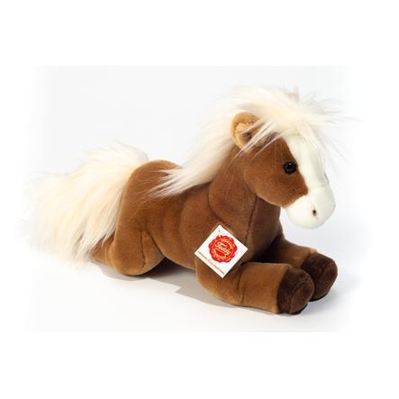Teddy HERMANN® Pferd liegend hellbraun 30 cm