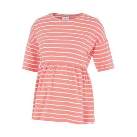 mama licious Maternity Shirt MLOTEA Sugar Coral