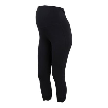mama;licious MLELIANA Legging 2er-Pack Black
