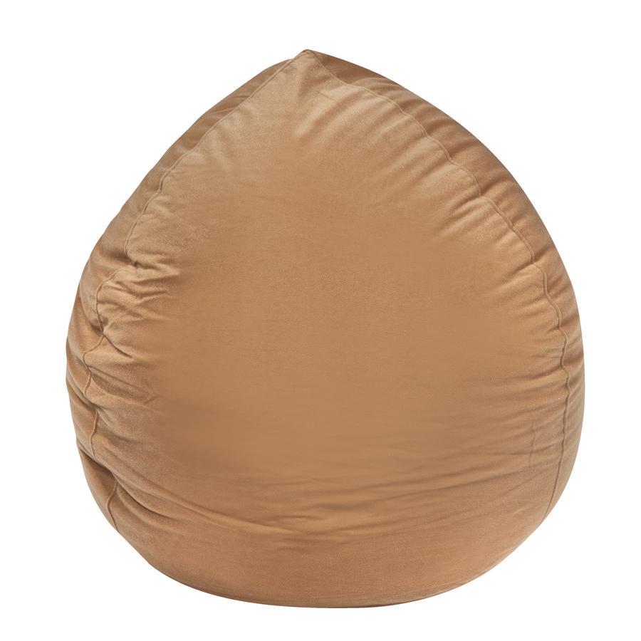 pushbag Beanbag Bag220 Mikrovlákno hnědé
