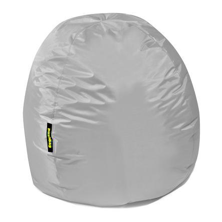 pushbag Pouf enfant rond Bag300 Oxford gris